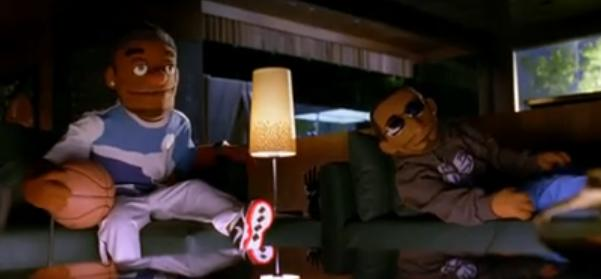 Kobe Bryant & LeBron James Puppet Commercials